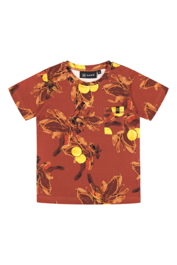 Kaiko - Treasure T-shirt, Amber orange