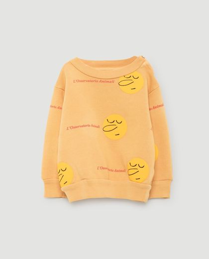 TAO - Bear babies sweat shirt, yellow faces