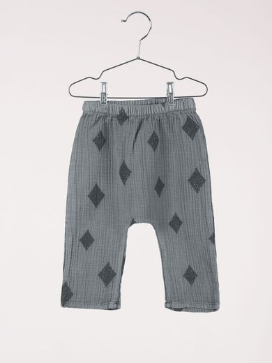 Bobo Choses - Baby baggy trousers diamond, steel grey