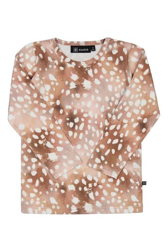 Kaiko - Copper bambi T-shirt LS