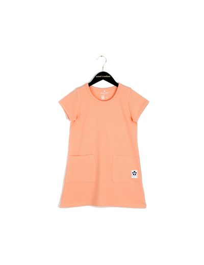 mini rodini - Basic dress, pink