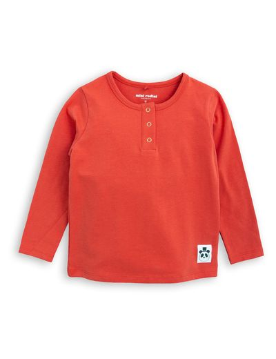 mini rodini - Basic ls grandpa, red
