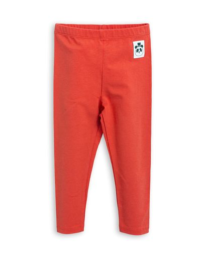 mini rodini - Basic leggings, red
