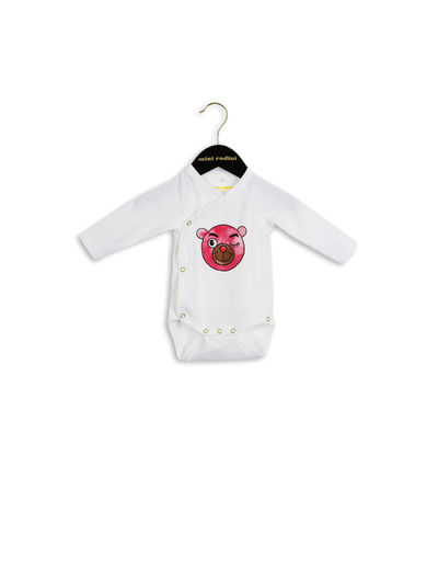 mini rodini - Bear wrap body, pink