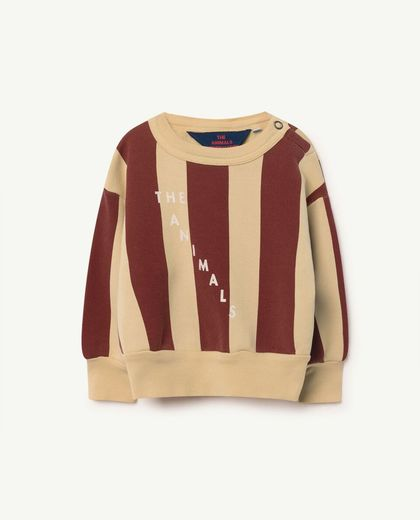 TAO - Bear babies sweat shirt, yellow maroon