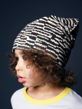 Mainio - Blinga beanie, black/white