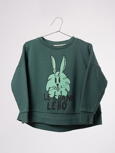 Bobo Choses - Sweatshirt Bunny, garden