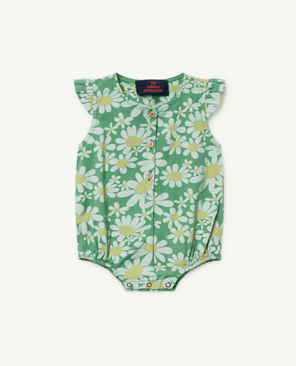TAO - Butterfly babies jumpsuit 000912-028 , green daisies
