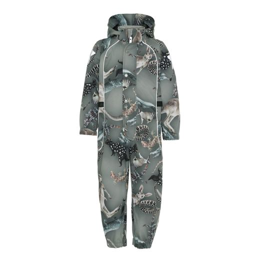 Molo kids - Polly overall, Camo bush animals