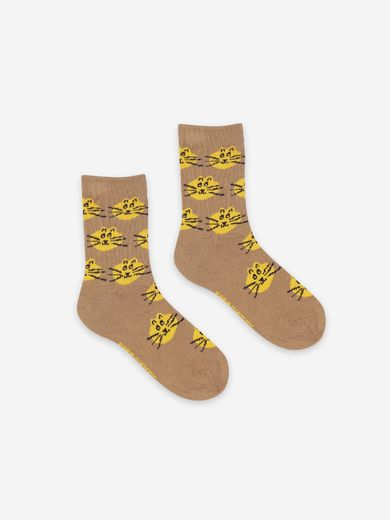 Bobo Choses - Fun and Cat Jacquard socks pack