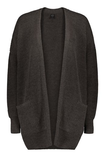 Kaiko - Chunky cardigan, dark chocolate