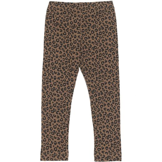 Maed for mini - Chocolate Leopard Legging