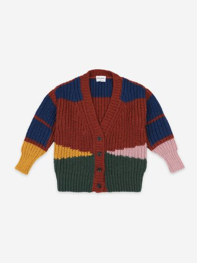Bobo Choses -  Color Block cardigan (22081008)