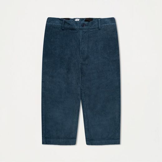 Repose AMS - Cord pants, stone blue
