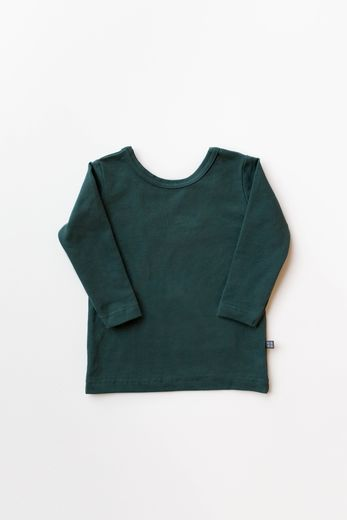 Kaiko - Cross shirt LS, green