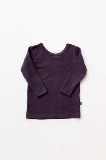 Kaiko - Cross shirt LS, purple