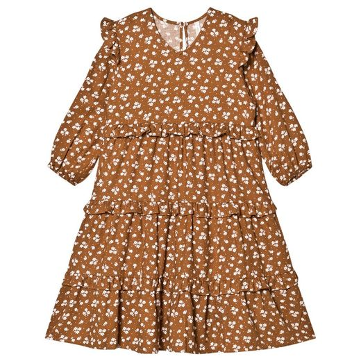 Rylee + Cru - Ditsy mabel dress, cinnamon