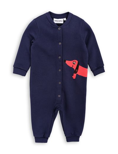 mini rodini - Dog onesie, navy