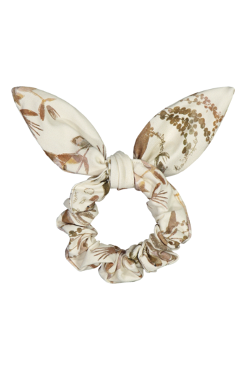 Kaiko - Bow scrunchie, Dried botany