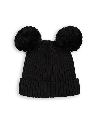 mini rodini - Ear hat, black