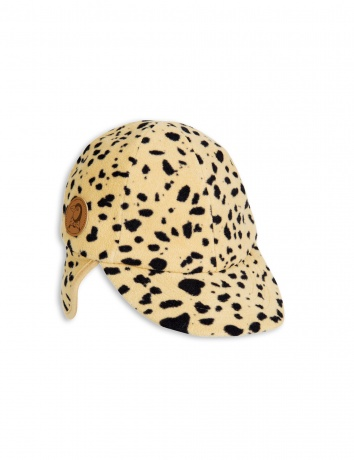 mini rodini - Fleece spot cap, beige