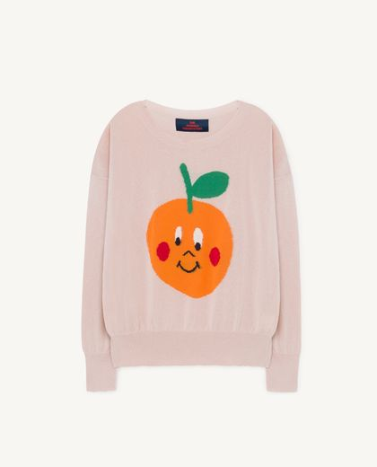 TAO - Fruit bull kids sweater, soft pink 001220 046_XX