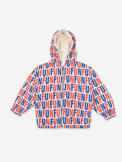 Bobo Choses - Fun All Over hooded sweatshirt (22081001 )
