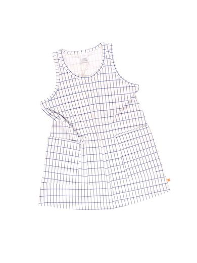Tinycottons - Grid tank dress, blue