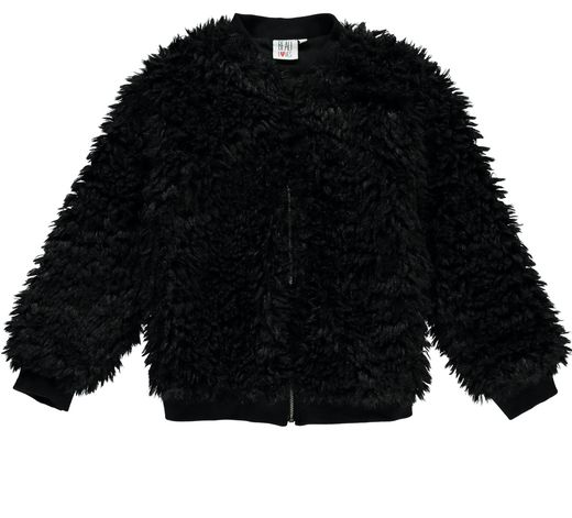Beau LOves - Furry jacket, black