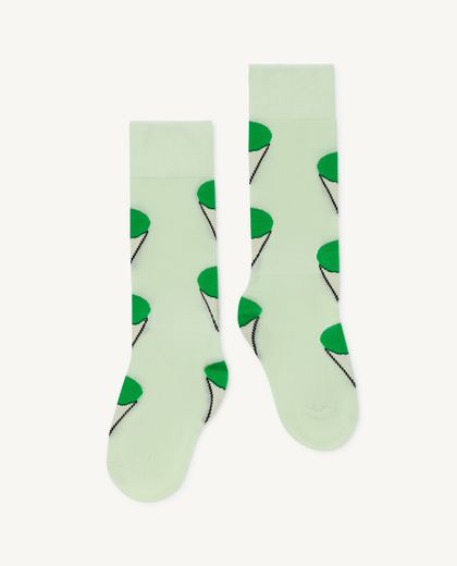 TAO - HEN KIDS SOCKS, soft green 001258 191_XX