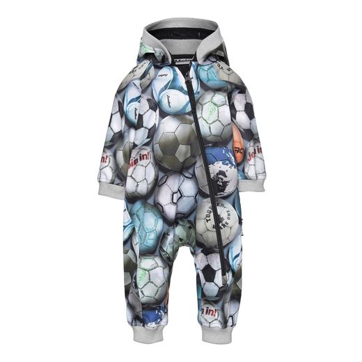 Molo Kids - Hill softshell suit, Football camo