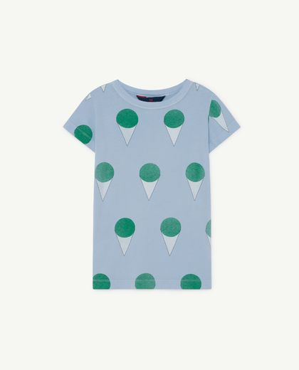 TAO - Hippo kids shirt,  blue ice cream  001134 022_OT