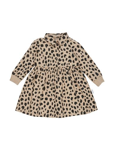Huxbaby - Animal Spot Shirt Dress