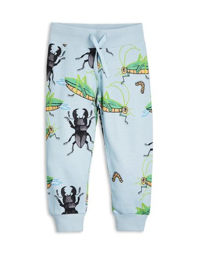 mini rodini - Insects sweatpants, lt blue
