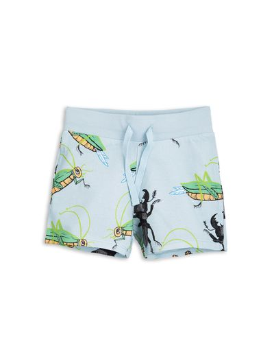 mini rodini - Insects sweatshorts, blue
