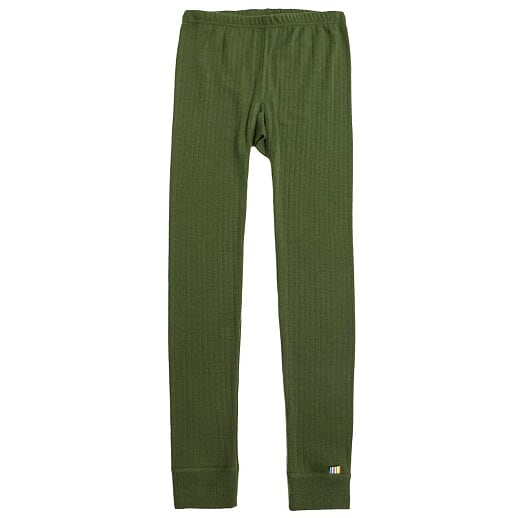 Joha - Merinowool leggings, bottle green