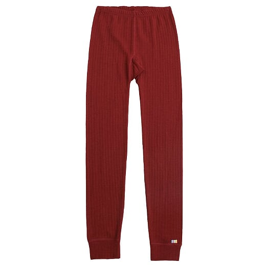 Joha - Merinowool leggings, red