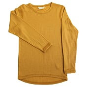 Joha - Merinowool tee, curry yellow