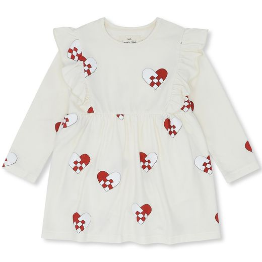 Konges Slojd - Christmas dress, heart