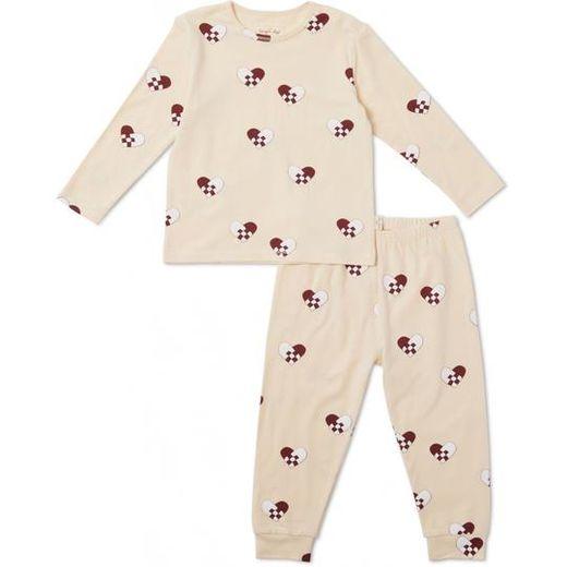Konges Slojd - Christmas kids pyjamas, hearts