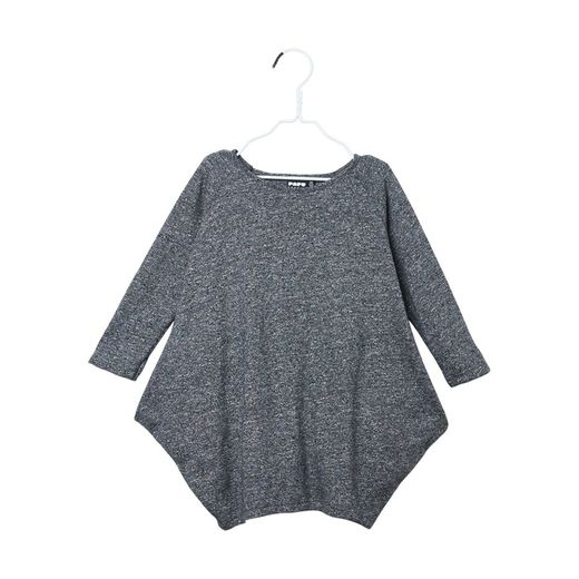 Papu - Kanto dress, fuzzy grey