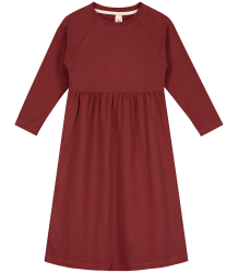 Gray label-  L/S long Dress, burgundy