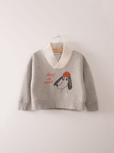 Bobo Choses - Fisherman Sweatshirt Loup de mer