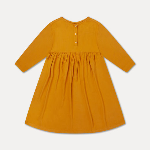 Repose AMS - Midi dress, warm ochre