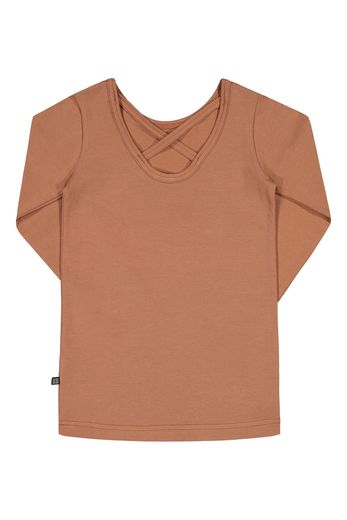 Kaiko - Cross Shirt Ls, Mocha