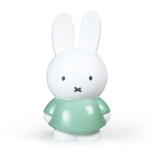 Miffy money box large, moody green