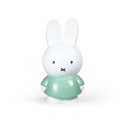 Miffy money box medium, moody green