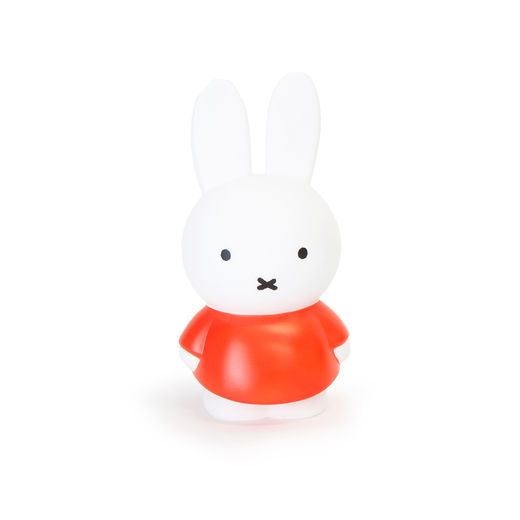 Miffy money box medium, red