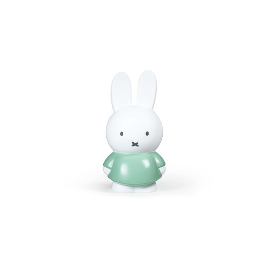 Miffy money box small, moody green