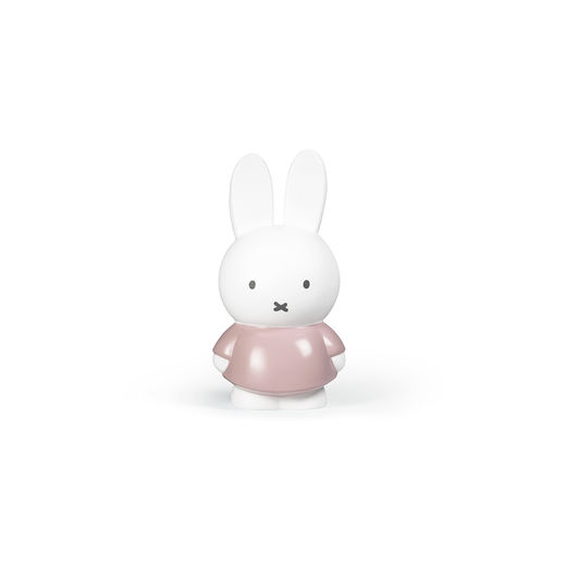 Miffy money box small, powder pink